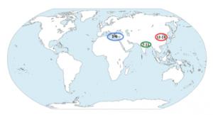 Mapa del tiempo-eje